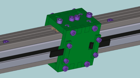 X-axis carriage