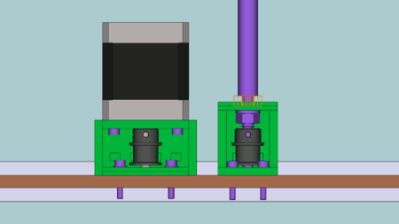 Z-axis motor